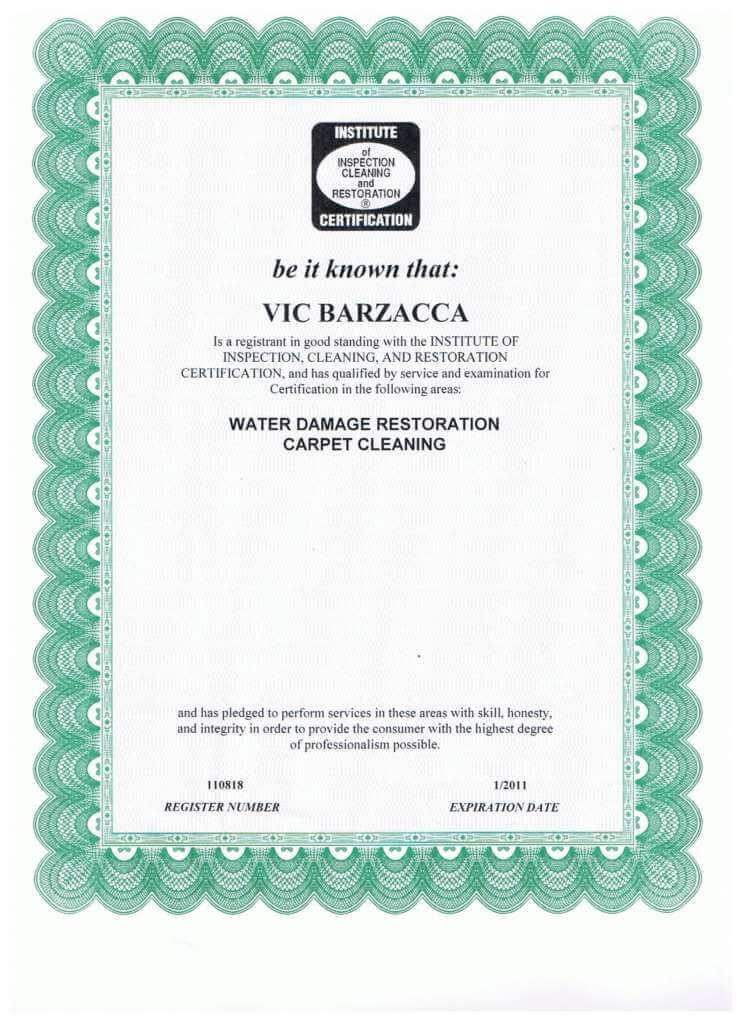 VIC-Barzacca-IICRC-Certificate-Water-Damage-Restoration-745x1024