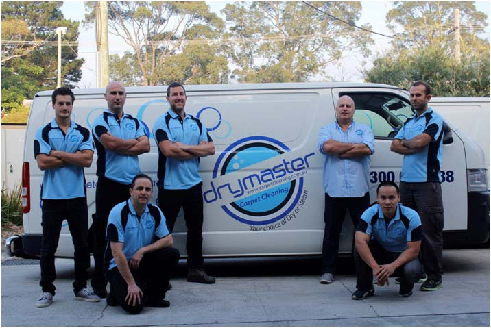 Carpet Cleaning Sunshine Coast - the Drymaster Cleaning team