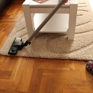 vacuum your carpets
